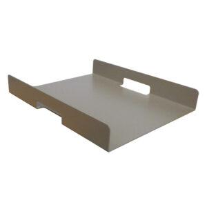 champagne aluminum serving tray